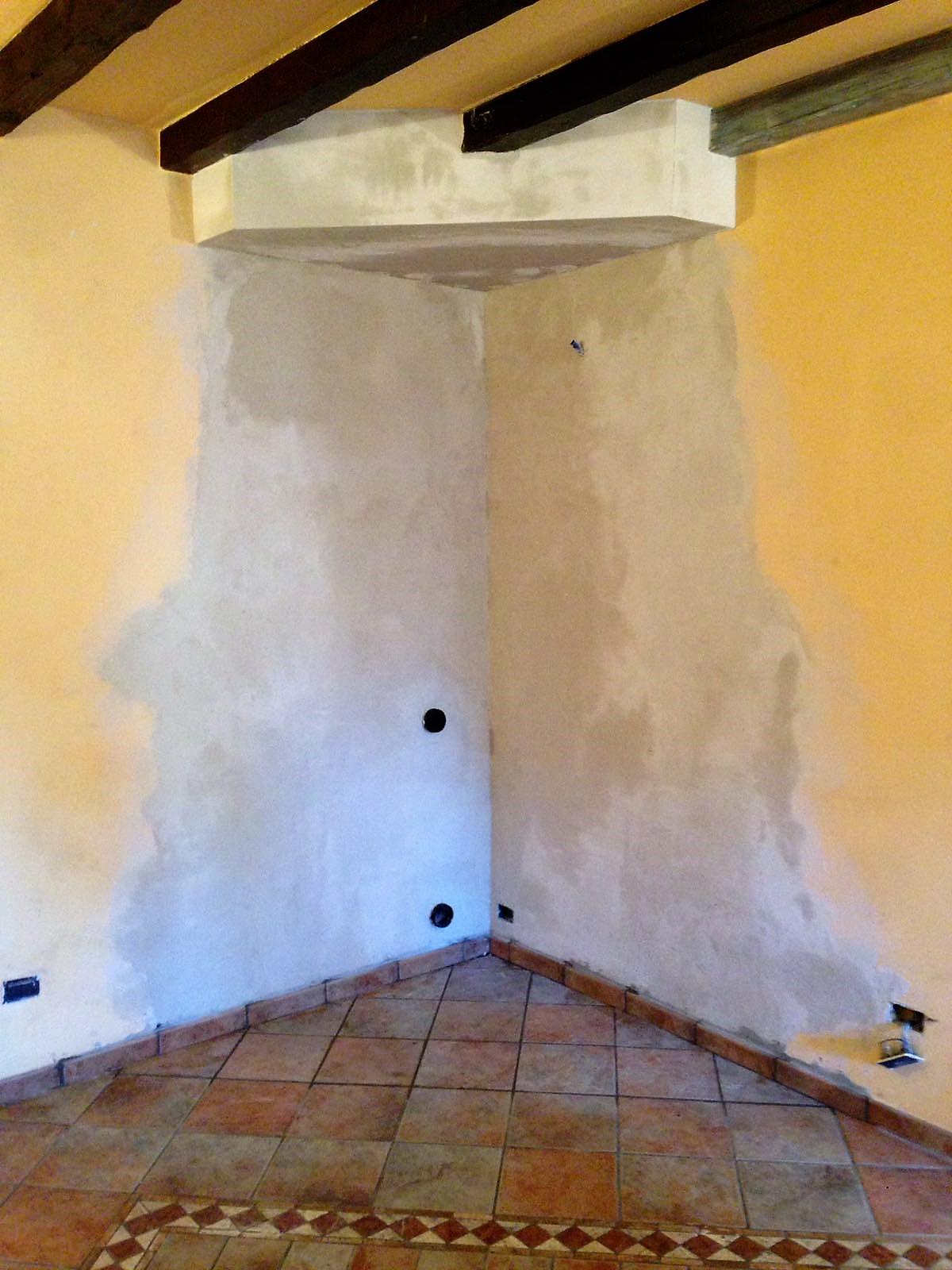 Come Abbattere Un Muro demolizione camino, sistemazione pareti e pavimento